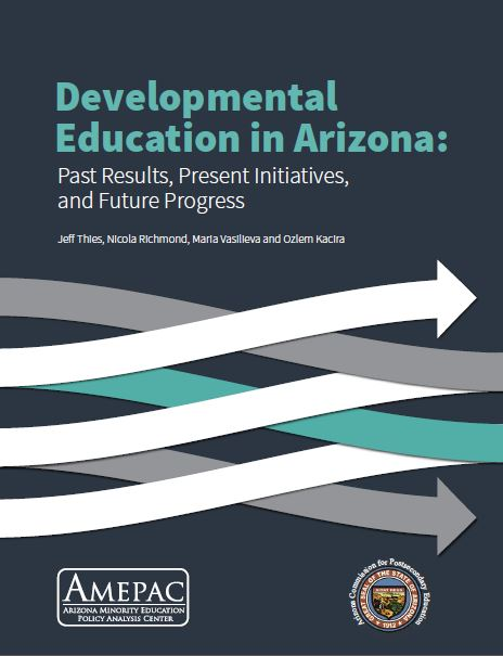 Developmental education in arizona report cover