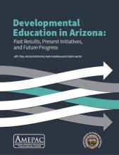 Developmental Education in Arizona Cover